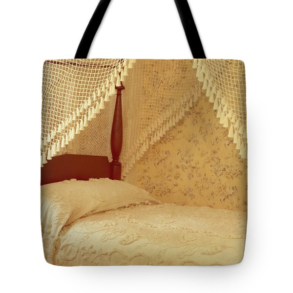 The Bedroom Tote Bag by Edward Fielding