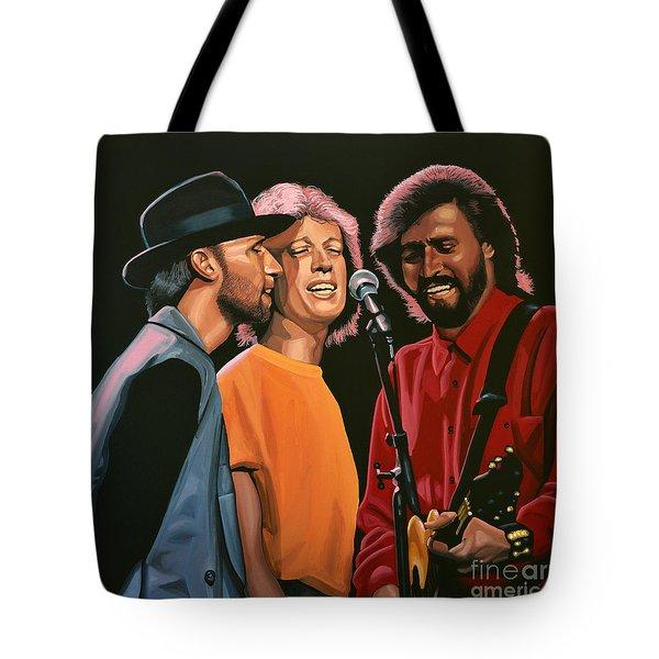 The Bee Gees Tote Bag by Paul Meijering