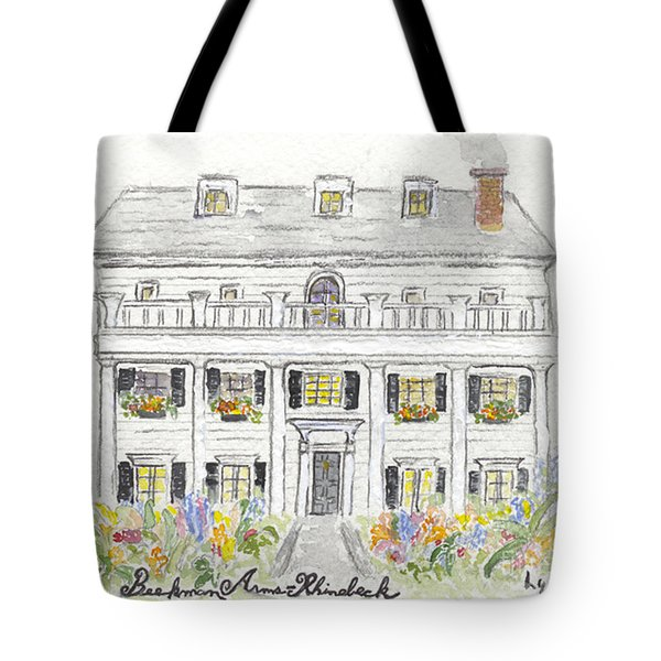 The Beekman Arms In Rhinebeck Tote Bag