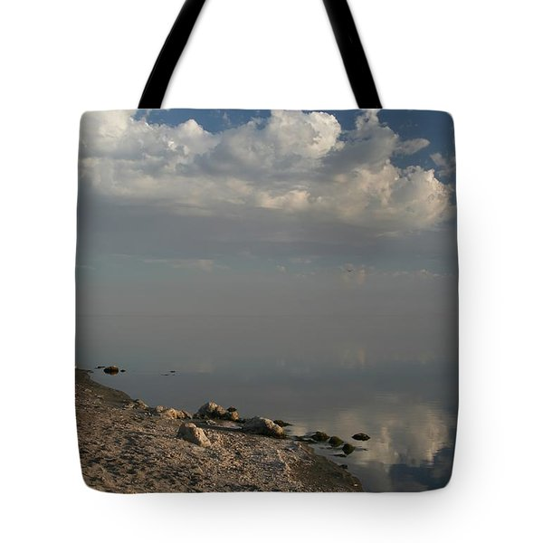 The Beginning And The End Tote Bag by Laurie Search