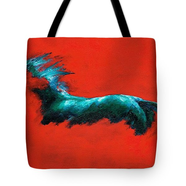 The Beginning Of Life Tote Bag by Frances Marino