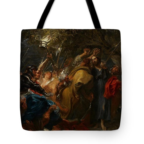 The Betrayal Of Christ Tote Bag by Anthony Van Dyck