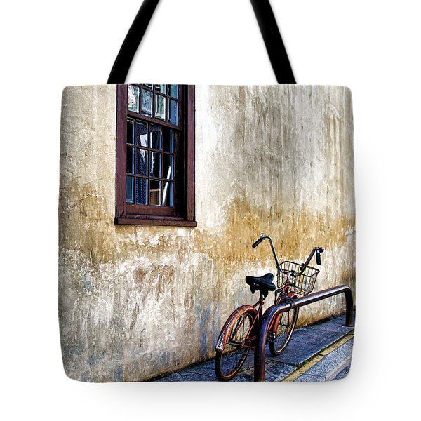 The Bicycle Tote Bag by Deborah Benoit