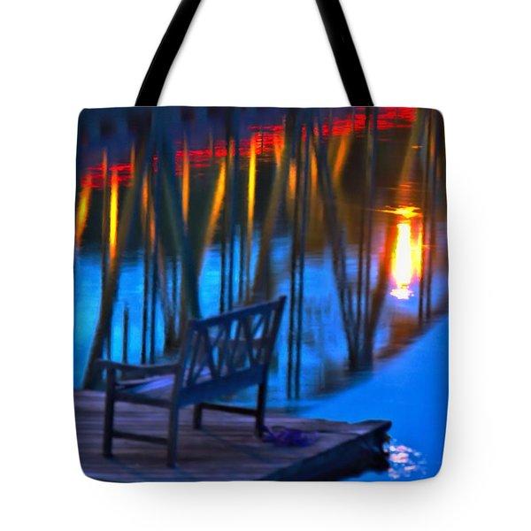 The Bidge At Sunset Tote Bag