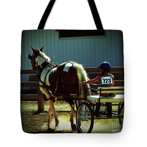 The Big And The Tiny Tote Bag