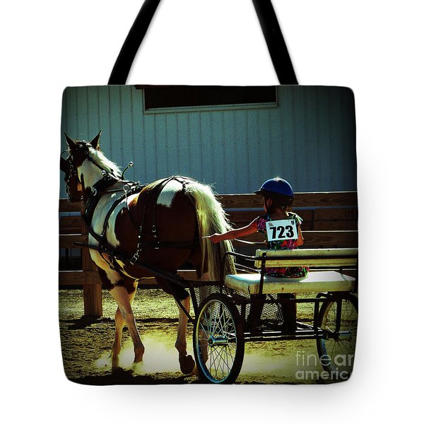 Tote Bag featuring the photograph The Big And The Tiny by Gena Weiser