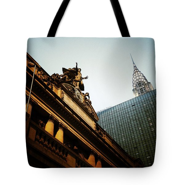 The Big Apple Tote Bag by Natasha Marco