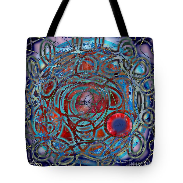 The Big Bang Grape Theory Tote Bag