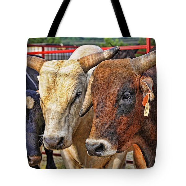 The Big Bull Strategy Meeting Tote Bag