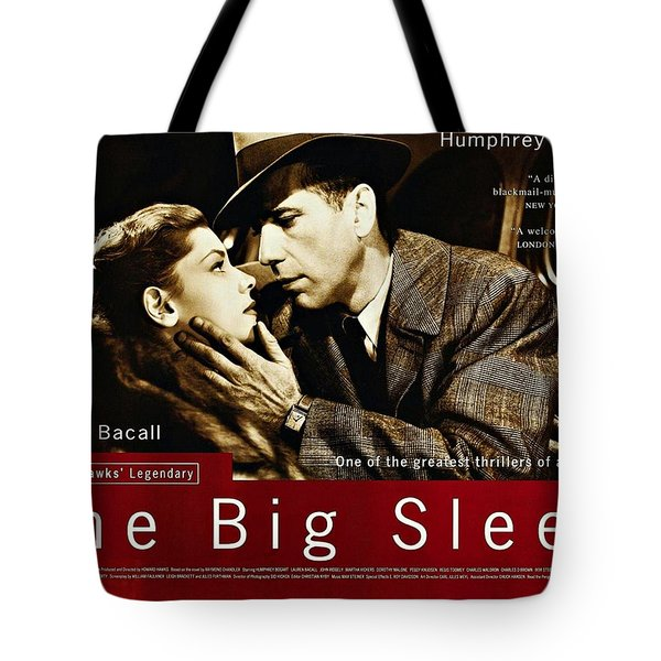 The Big Sleep  Tote Bag