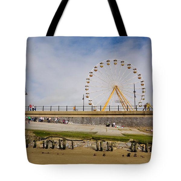 The Big Wheel And Promenade, Tramore Tote Bag
