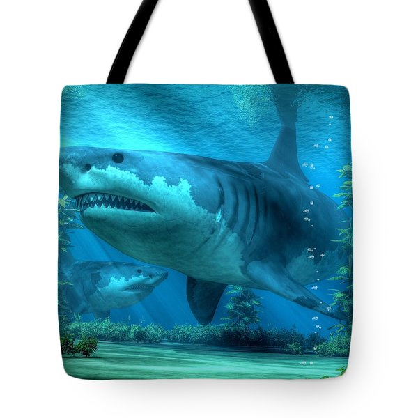 The Biggest Shark Tote Bag