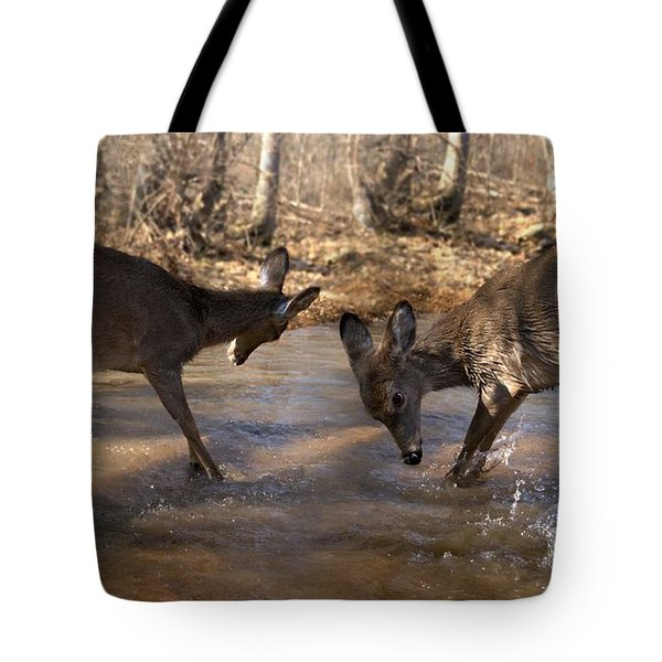 The Bill And Mike Show Tote Bag by Bill Stephens