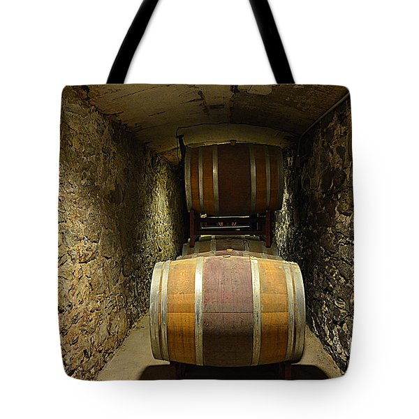 The Biltmore Estate Wine Barrels Tote Bag