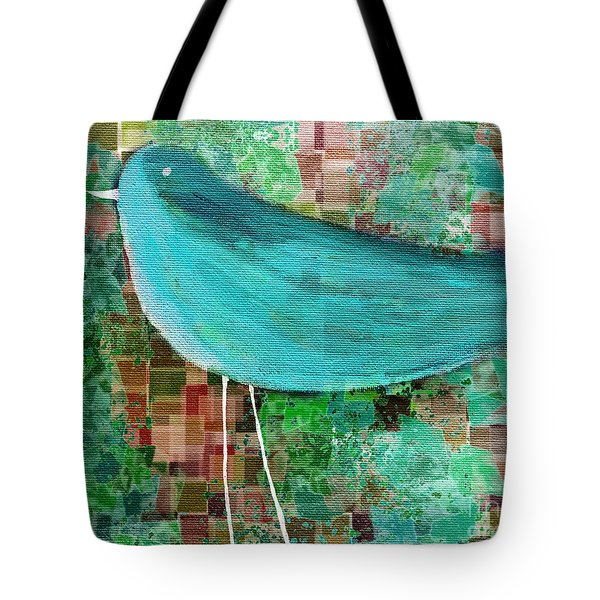 The Bird - 23a1c2 Tote Bag by Variance Collections
