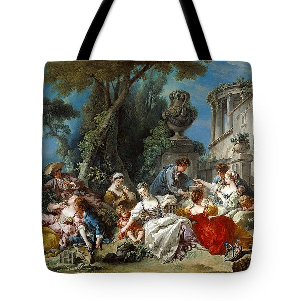 The Bird Catchers Tote Bag