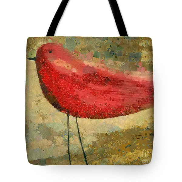 The Bird - K03b Tote Bag by Variance Collections