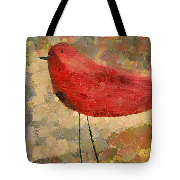 The Bird - K04d Tote Bag by Variance Collections