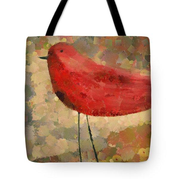 The Bird - K04d Tote Bag