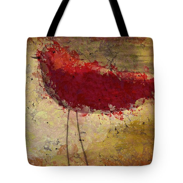 The Bird - S65b Tote Bag by Variance Collections