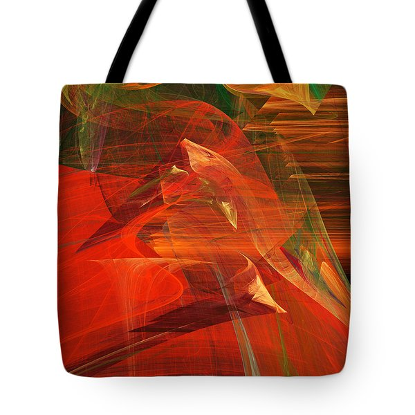 The Bird Whisperer . A120423.693 Tote Bag