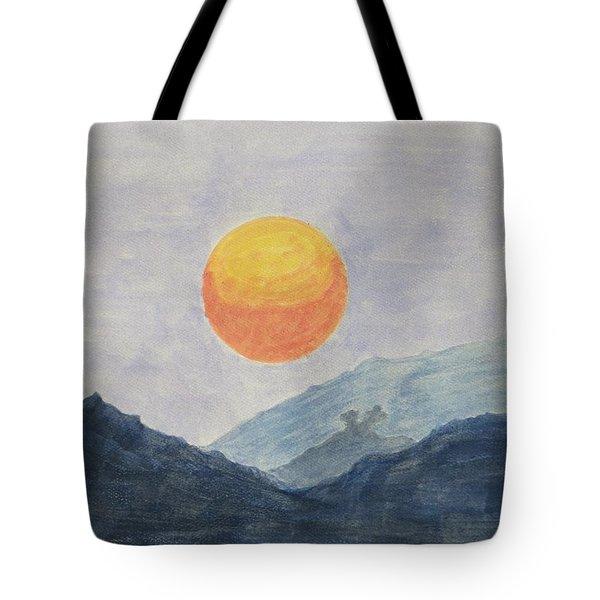 The Birth Tote Bag by Sonali Gangane