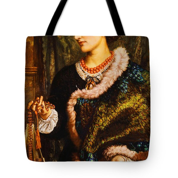 The Birthday Tote Bag by William Holman Hunt