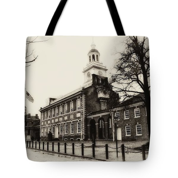 The Birthplace Of Freedom Tote Bag by Bill Cannon