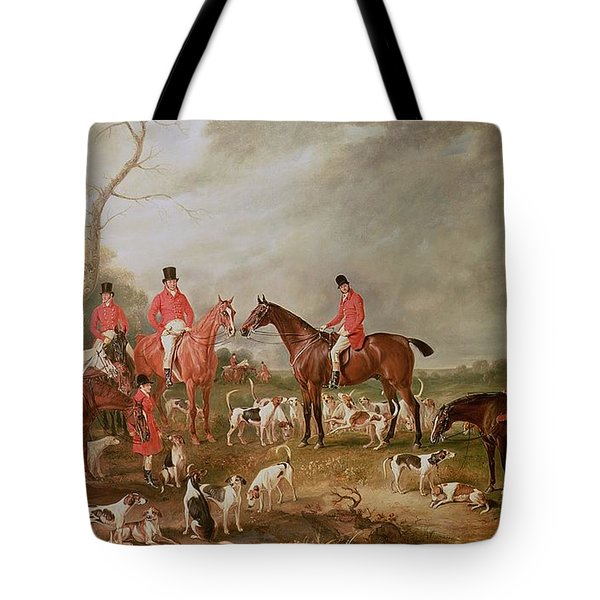 The Birton Hunt Tote Bag by John E Ferneley
