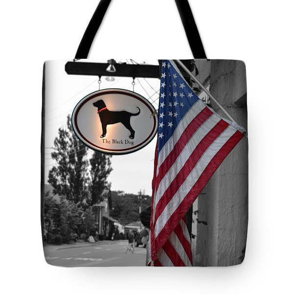 The Black Dog Store Tote Bag