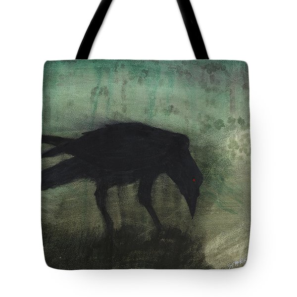 The Black Flag Of Himself Tote Bag by Jim Stark