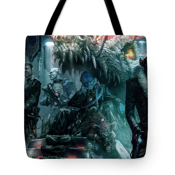 The Black Hole Gang Tote Bag