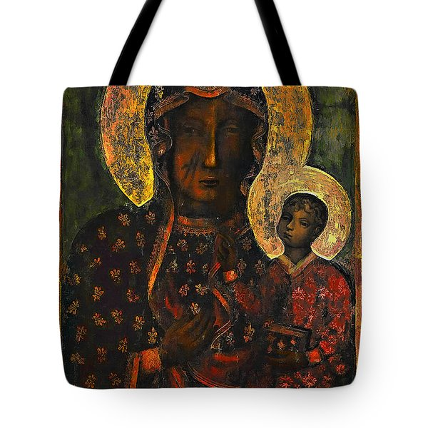 The Black Madonna Tote Bag