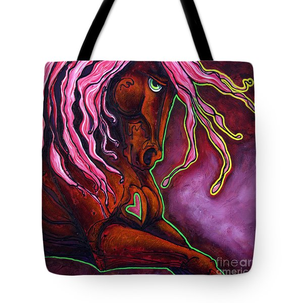 The Blaze Within Tote Bag