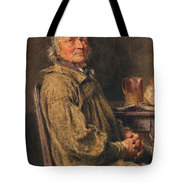 The Blessing Tote Bag by William Henry Hunt
