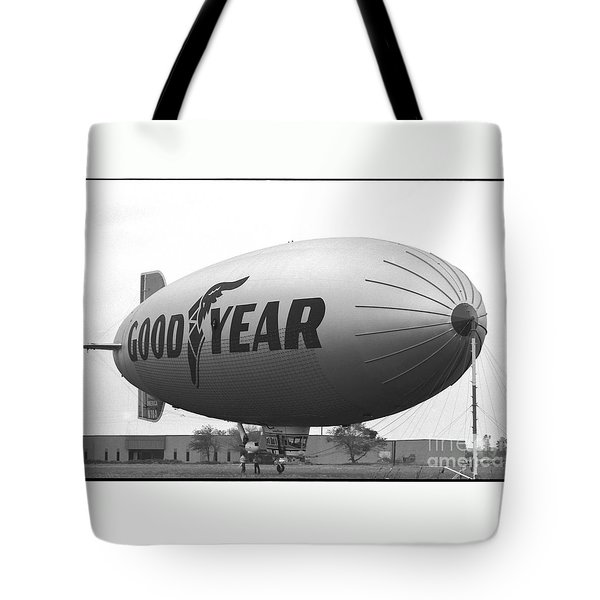 The Goodyear Blimp In 1979 Tote Bag