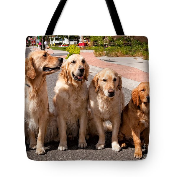 The Blond Team Tote Bag