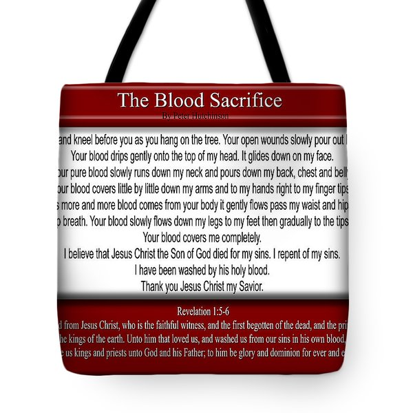 The Blood Sacrifice Tote Bag