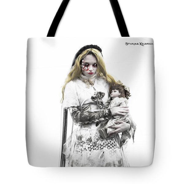 The Haunted Angel Tote Bag