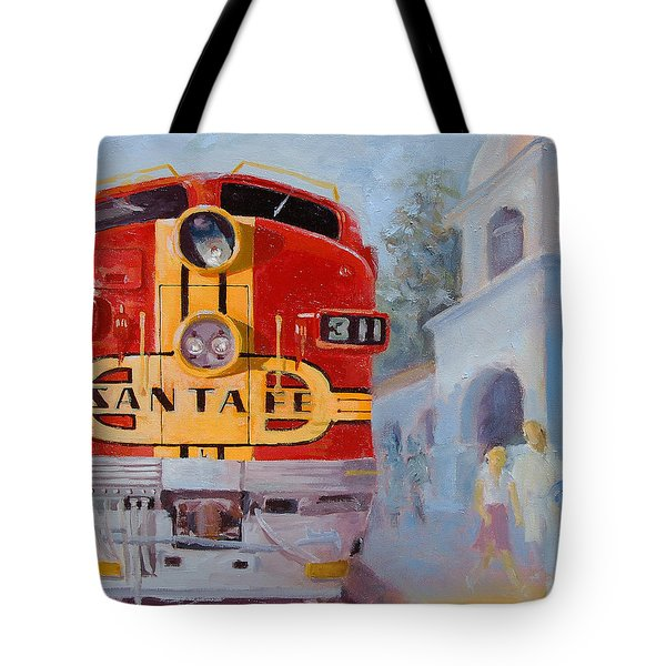 The Chief In San Juan Capistrano Tote Bag