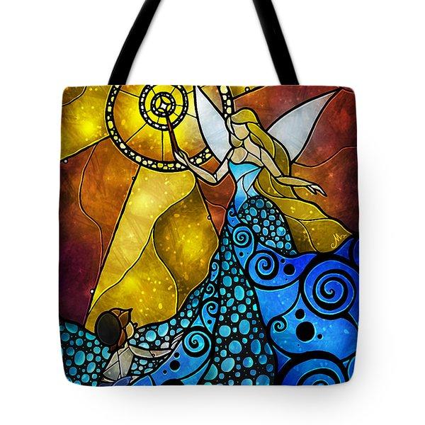 The Blue Fairy Tote Bag by Mandie Manzano