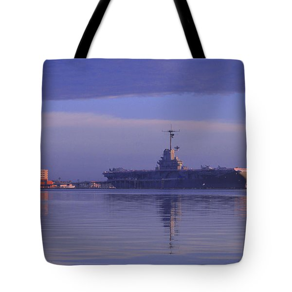 The Blue Ghost Tote Bag by Leticia Latocki