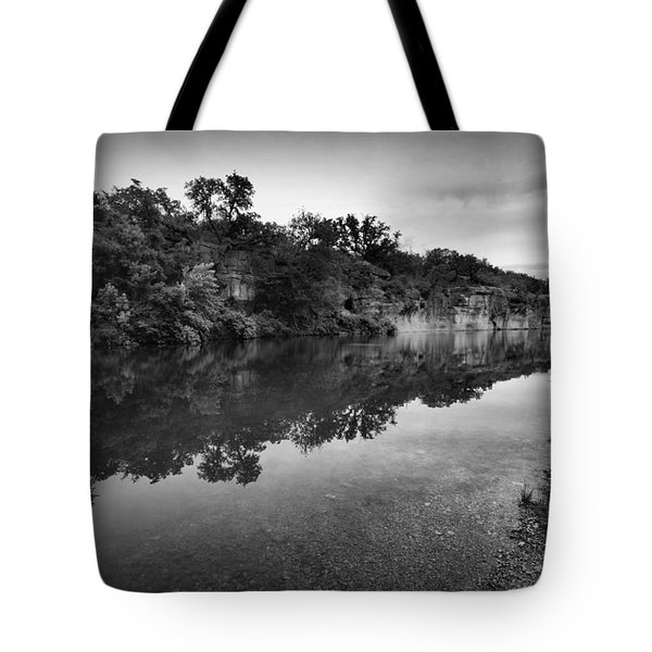 The Blue Hole Tote Bag by Linda Unger