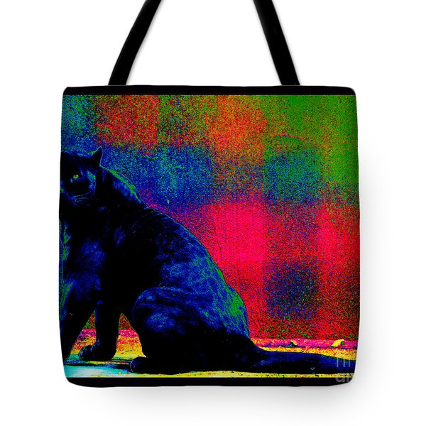 The Blue Jaguar Tote Bag