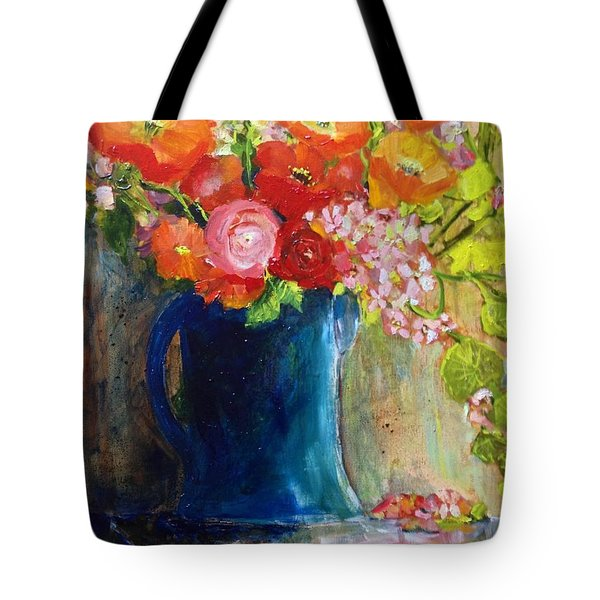 The Blue Jug Tote Bag