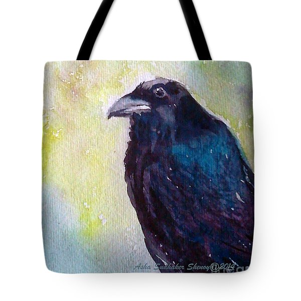 The Blue Raven Tote Bag
