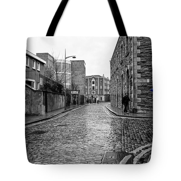 The Blue Umbrella - Sc Tote Bag by Mary Carol Story