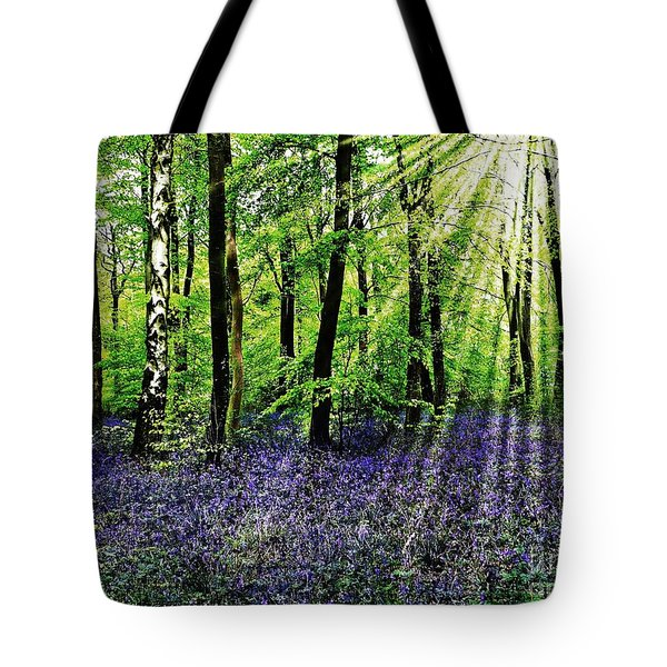 The Bluebell Woods Tote Bag