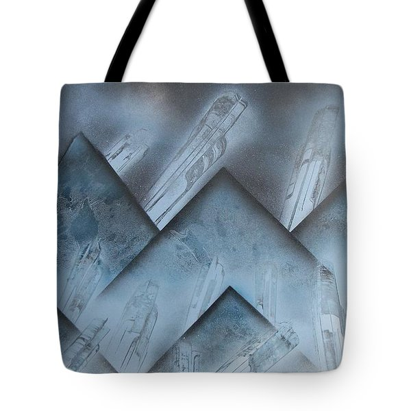 Blue Mountain Way Tote Bag