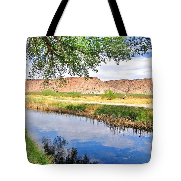 Tote Bag featuring the photograph The Bluffs by Marilyn Diaz